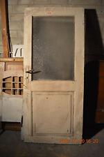 Alte Zimmertür Glas Tür shabby chic Laden-Inneneinrichtung unrestauriert F10
