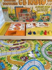 CB Radio Game, 10-Four, Good Buddy 1976 Parker Brothers Missing 1 Police Car.