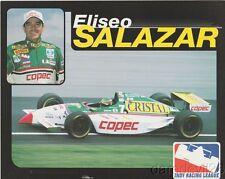 1997 Eliseo Salazar Copec Oldsmobile Dallara Indy 500 Indy Car postcard