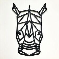 Geometric Rhino Head Wall Art - Home Decor Kids Nursery Bedroom Decoration