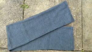 WW2 RAF blue wool cap comforter scarf