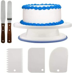 6Pcs Cake Decorating Supplies Kit Professional Baking Tools Set