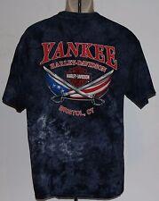 Yankee Harley Motor Cycles Davidson Bristol, CT Men's T Shirt Size Large