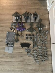HALO MEGA CONSTRUX- Mixed Lot Of Vehicles And Miscellaneous Pieces *NOT COMPLETE