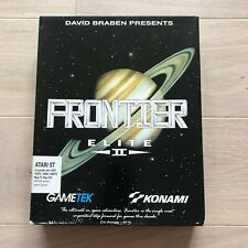 Frontier Elite II game for Atari ST / STE / Mega, Tested & Working