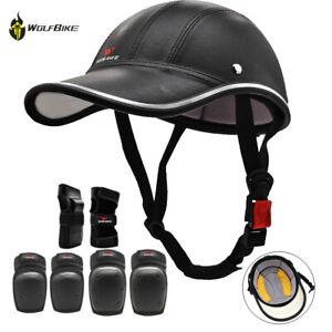 Skateboard Helmet Elbow/Knee/Wrist Pad BMX Adult Inline Roller Horse Riding Pads