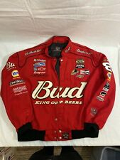 Dale Earnhardt Jr Racing Jacket BudWeiser Red Size 2XL