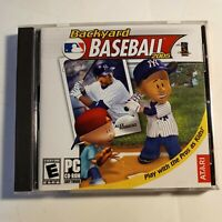 Backyard Baseball 2005 (Jewel Case) - PC  Atari Alex Rodriquez