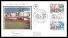 France ( Palais de l'Europe a Strasbourg )1982 FDC - enveloppe premier jour