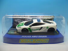 SCALEXTRIC POLICE Abu Dhabi McLaren mp4-12c, exculsive to scalextricman 25 only