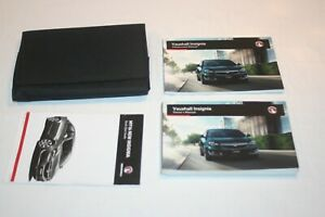 VAUXHALL INSIGNIA  OWNERS MANUAL / INFOTAINMENT USER HANDBOOK & WALLET,  2016