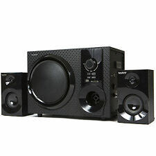 Home Stereo System 2.1 Channel Music Player FM Wireless,Bluetooth,Speaker,MP3