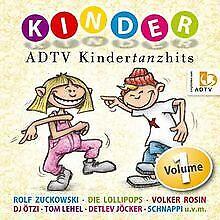 ADTV Kindertanzhits - 20 Kinderlieder zum Tanzen für die K... | CD | Zustand gut