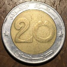 PIECE DE 20 DINAR 1999 ALGÉRIE TÊTE DE LION (390)