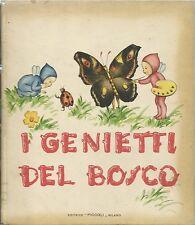Colombini - I Genietti del Bosco - Mariapia disegna - IV Ristampa Piccoli