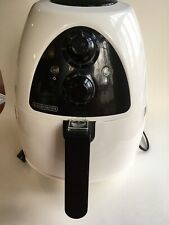 Black & Decker Purifry 2-Liter Air Fryer, White, HF100WD Excellent Condition