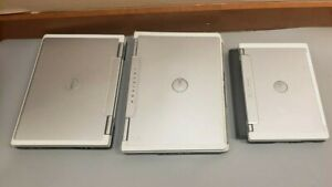 Lot of 3 DELL Inspiron E1505/700M/6000 various RAM 0-80GB HDD BOOT TO BIOS
