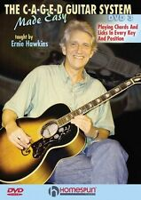 The C-A-G-E-D Guitar System Made Easy DVDs 1 2 & 3 Instructional Guit 000642028