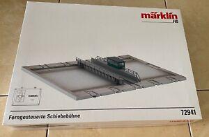 Marklin 72941 TRANSFER TABLE /  BONUS 6 x 24951 Transition for Tracks C to M