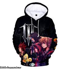 Kingdom Hearts Print Sweatshirt Pullover Hoodie Unisex Casual Sweater Cosplay