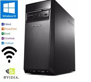 Lenovo H50-55 AMD A10-7800 3.5GHZ 120GB SSD+ 1TB 16GB/HDMI/GE GT630/W10/OFFICE