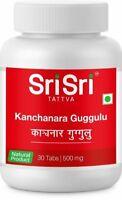 Sri Sri Tattva Kanchanara Guggulu - Schilddrüse, 2 X 30 Tabletten (500 mg) DE