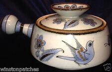 EL PALOMAR TONALA BLUE KEN EDWARDS KE 1.25 QUART COVERED CASSEROLE BLUE BIRDS
