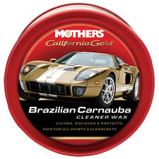 Mothers California Gold BRAZILIAN CARNAUBA CLEANER PASTE WAX Clean & Protect HQ