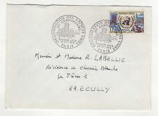 FDC Nation-Unie RF 1 timbre sur lettre 1970  /L375
