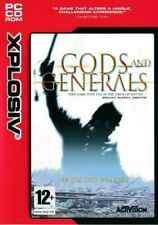 Gods & Generals - Civil War - PC CD-ROM Game (New & Sealed)