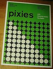 PIXIES ROCK CONCERT POSTER SWISS PUNK GRAPHIC POP ART RAT BOSTON