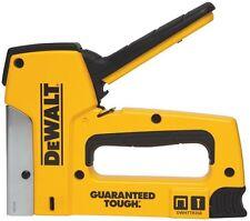 DEWALT Staple Nail Gun Hand Tool Stapler 18 Gauge Squeeze Handle DIY Project