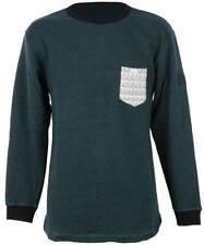 Shisha ensortijadas Sweater suéter señores sudadera Forrest green ash verde