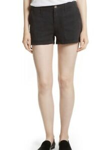 Joie Wilama Shorts in Caviar. NWT. Size 2. Retail- $178