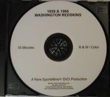 1959 & 1966 Washington Redskins Highlights now on DVD!
