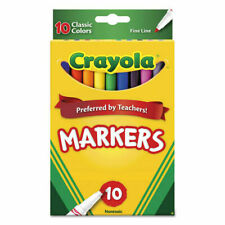 New listing Crayola 10ct Classic Fine Line Markers