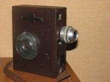Vintage ancienne caméra Pathé WEBO A 9,5 objectifs BERTHIOT Cinor 1,9/20mm