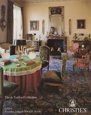 De Trafford collection: Porcelaine Meubles tableaux silver auction catalogue