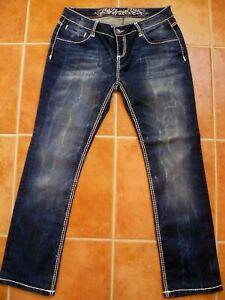 Super SOCCX Angel Jeanshose/Jeans W31L32 dicke Nähte