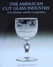 LIVRE/BOOK : VERRE TAILLÉ AMERICAINE (american cut glass,vase,coupe,goblets ...