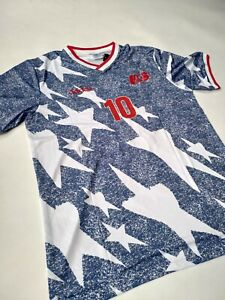 Christian Pulisic U.S.A Jersey #10 1994 Home Soccer Jersey Size L