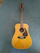 Ibanez 12 String Vintage acoustic mij guitar solid top ex cond some blemishes