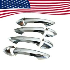 Chrome Trims Door Handle Cover Set For Mercedes-Benz W204 W212 C-Class GLK CLA