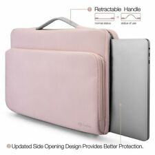 iPad Pro 12.9 2017 Sleeve Case Drop Protective Stylish Zippered Handle Bag Pink