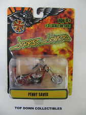 Jesse James West Coast Choppers Penny Saved 1:31 Die Cast  NIB