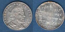 Série des Rois de France - Jeton argent d'époque - Lothaire 917 - 954