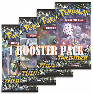 Pokemon Lost Thunder Booster Pack. New & Sealed. Sun & Moon.