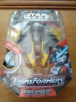 Star Wars Transformers - Anakin Skywalker to Jedi Starfighter Action Figure new