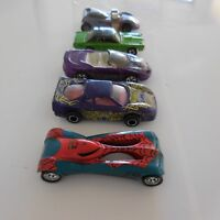 5 voitures miniatures vintage collection MATTEL MAJORETTE