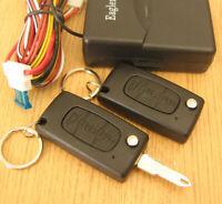 Funk Fernbedienung für Zentralverriegelung mit 3T Schlüssel für Peugeot Citroen